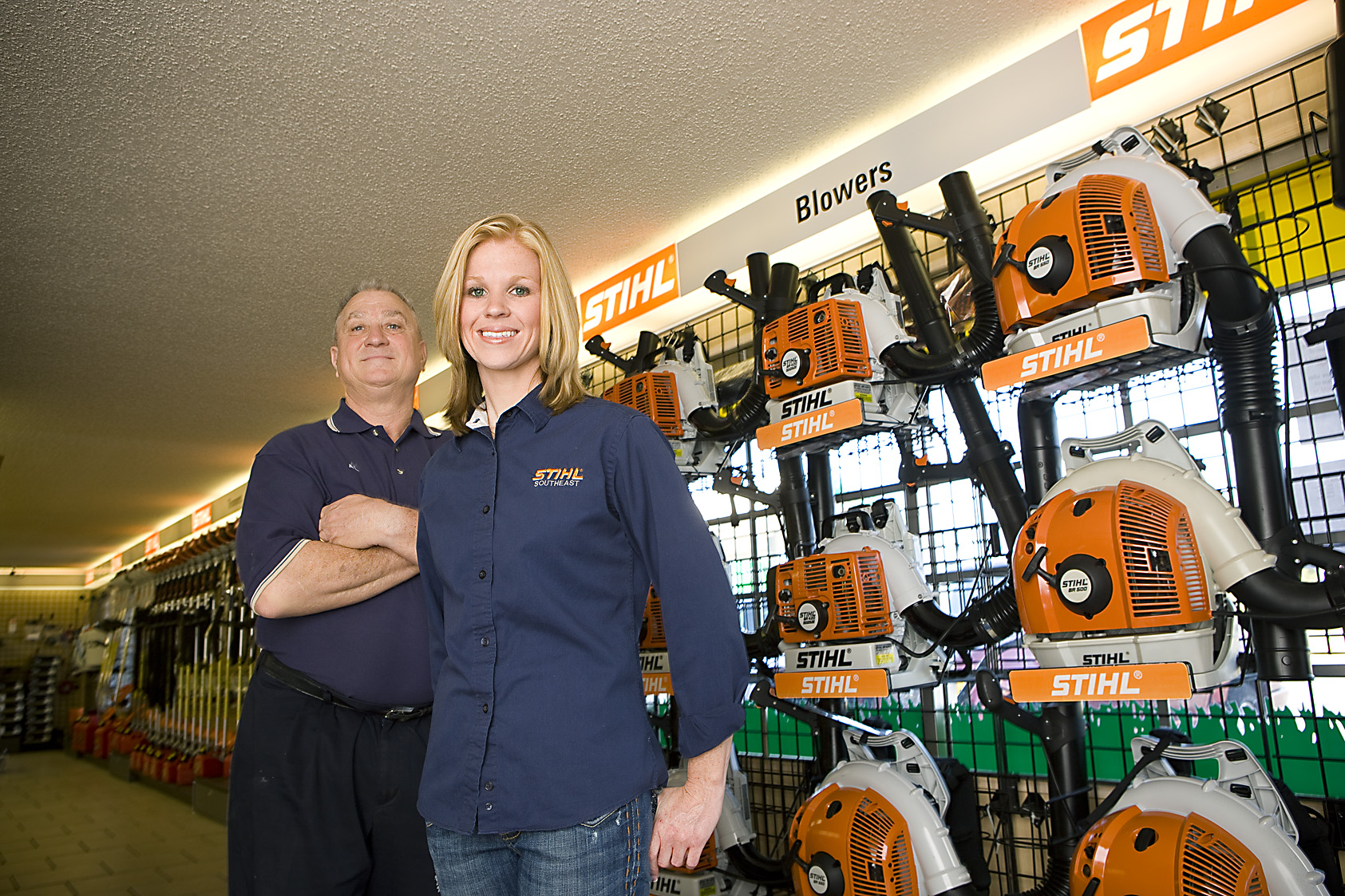 Al' Lawn Care is a family owned business.  They have great a line products, Lawn Mowers, Edgers, String Line Trimmers, Blowers and lots more.  Exmark - Stihl